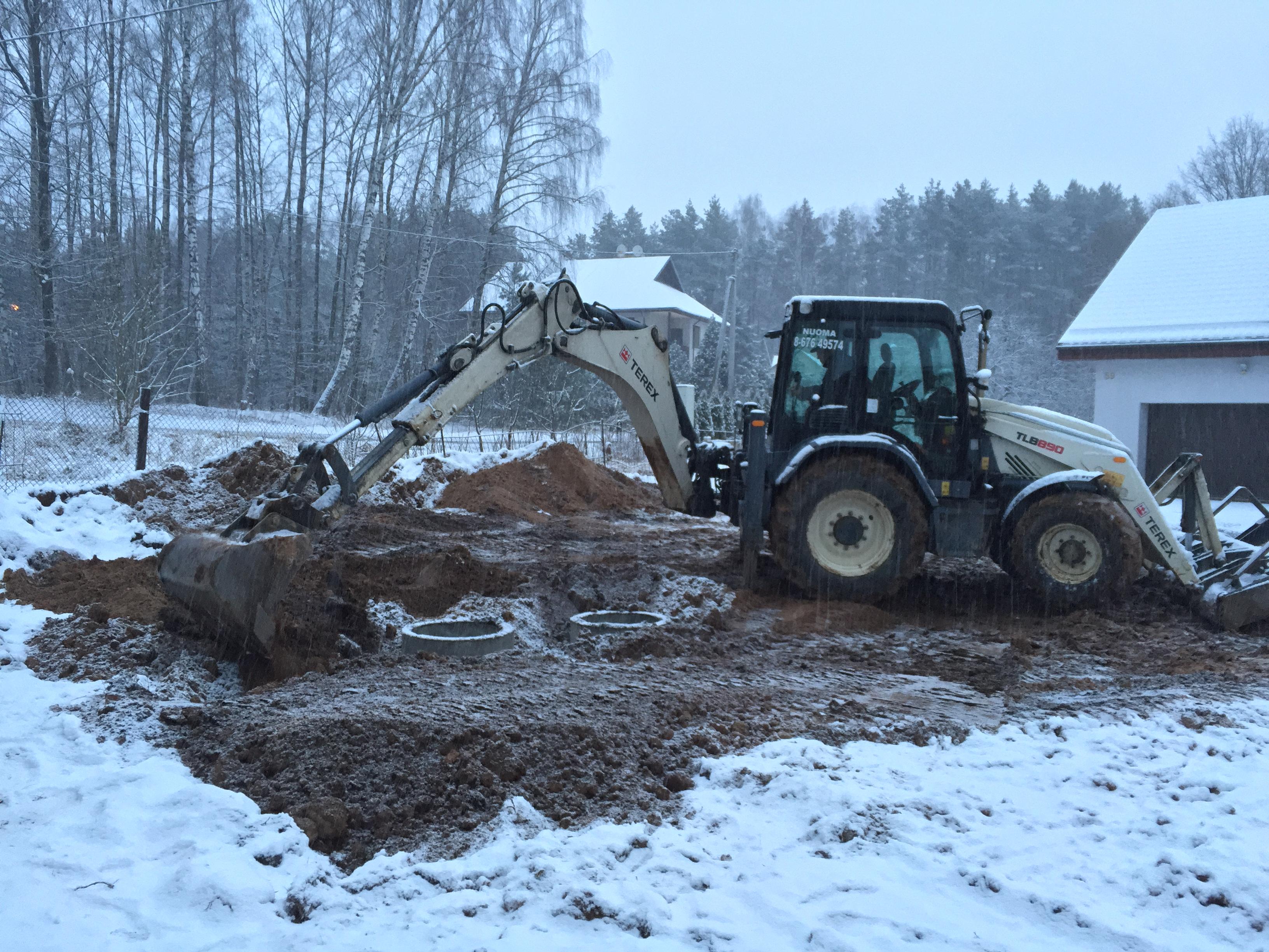 Kanalizacijos kasimas Vilniaus rajone